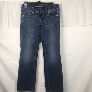 American Eagle Stretch Slim Boot Size 6 Jeans